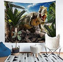 YZHEWQ Wall Tapestry dinosaur Tapestry for Bedroom