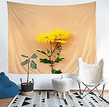 YZHEWQ Wall Tapestry flower Tapestry for Bedroom