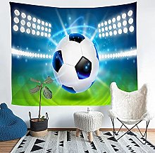 YZHEWQ Wall Tapestry football Tapestry for Bedroom
