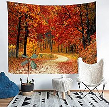 YZHEWQ Wall Tapestry Forest Tapestry for Bedroom