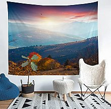 YZHEWQ Wall Tapestry landscape Tapestry for