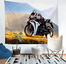 YZHEWQ Wall Tapestry motorcycle Tapestry for