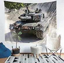 YZHEWQ Wall Tapestry tank Tapestry for Bedroom