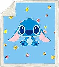 YZHY Disney Lilo Stitch Fleece Boys Throw