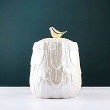 YZJL Human Small Memorial Urns, Light Nordic Style