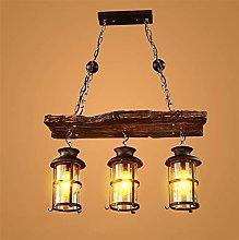 YZSJ Pendant Light Vintage Hanging Lamp Edison