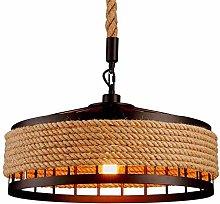 YZSJ Pendant Light Vintage Rope Lamp Hanging Lamp