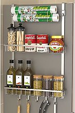 Yzwen Spice Rack Kitchen Shelf Cabinet Jar Herb