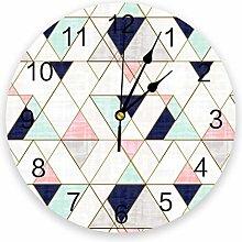 Yzybw Wall Clock Silent Non Ticking Clock