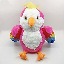 Z-GJM Stuffed Toy22Cm Plush Red Rio Macaw Parrot