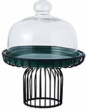 Z-W-DONG Multifunctional Cake Stand, Black Metal