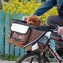 Z-ZH 2- in-1 Pet Bike Basket, Pet Dog Bicycle