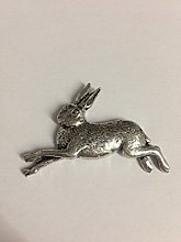 Z2 Hare made from Solid Fine English Pewter Fridge