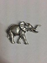 Z20 Elephant made from Solid Fine English Pewter