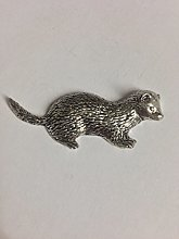 Z32 Ferret made from Solid Fine English Pewter