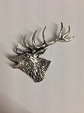 Z53 Red Stag Head made from Solid Fine English