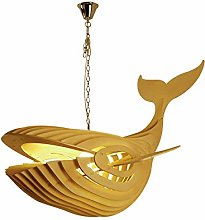 ZA Pendant Lights Modern Creative Whale Hanging