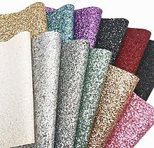 ZAIONE New Ultra Chunky Glitter Faux Leather