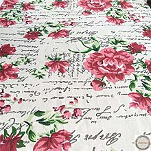 ZAIONE New Vintage Cotton Linen Fabric French