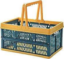 ZAIZAI Multipurpose Folding Shopping Basket Large