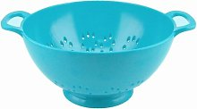 Zak Designs Colourways Large Colander, Blue, 23cm