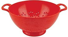 Zak Designs Colourways Large Colander Red, 23cm