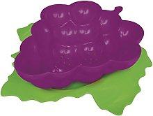 zakdesigns Grape Colander with Coaster, Melamine,