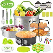 Zalava 25Pcs Instant Pot Accessories Pressure