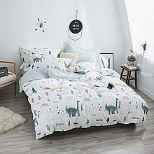 Zangge Bedding Animal Double Size Duvet Cover Set