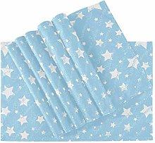 ZANSENG Placemats Set Of 6, Heat Insulation