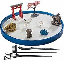 ZANTRA Japanese Zen Garden for Desk, Home and