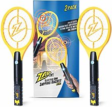 ZAP IT! Bug Zapper - Rechargeable Mosquito, Fly