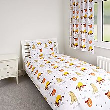 Zappi Co Sloth Design Bedding Set Childrens Girls