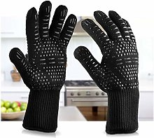 Zappy grilling BBQ gloves - oven Glove with high