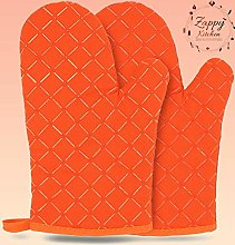 Zappy Oven gloves with a double heat silicone