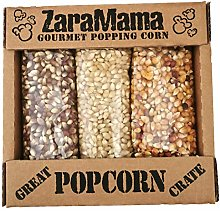 ZaraMama Gourmet Popping Corn - Great Crate Pack