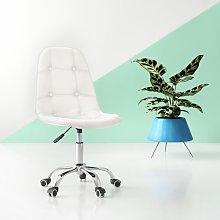 Zareen Desk Chair Hashtag Home Upholstery Colour: