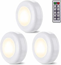 ZARRS Under Cabinet LED Lights,3 Pack White
