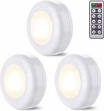 ZARRS Under Cabinet LED Lights,3 Pack White
