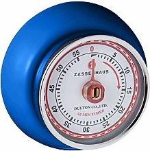 Zassenhaus 60 Minute Kitchen Timer, Steel, Royal