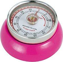 Zassenhaus: Kitchen Timer with Magnet in Magenta -