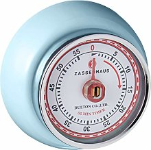 Zassenhaus Timer Speed in Metal, Light/Blue