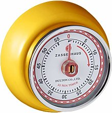 Zassenhaus Timer Speed, Metal, Yellow