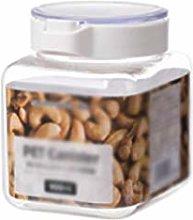 Zaza Household jar Clear Empty Plastic Storage