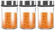 Zaza Household jar Spice Jars Bottles Glass Empty