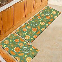 ZAZN Cartoon Printed Carpet European Style Kitchen