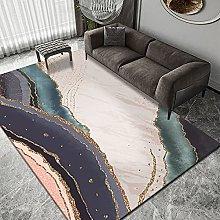 ZAZN European Style Ink Mosaic Carpet Bedroom