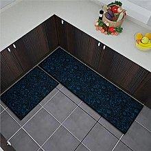ZAZN European Style Printed Carpet, Dirt-Resistant