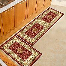 ZAZN Kitchen Carpet European And American Retro