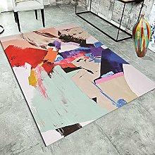 ZAZN Living Room Carpet Sofa Coffee Table Cushion